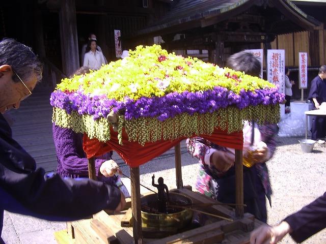 弘明寺花祭り